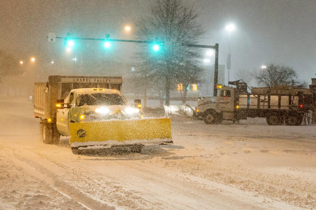 Téli vihar az Egyesült Államok keleti államaiban