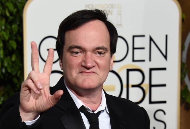 Quentin Tarantino a 2016-os Golden Globe-díjkiosztón