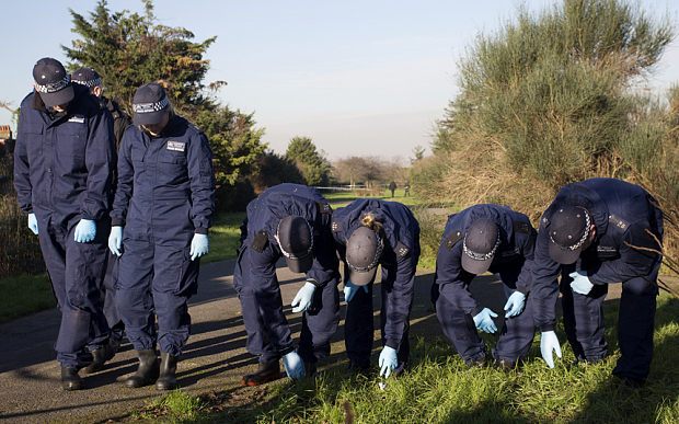 Mandatory Credit: Photo by REX/Shutterstock (5550478e) Police at Kendor Gardens Stabbing attack near Morden Tube station, London, Britain - 19 Jan 2016 A murder investigation has been launched after a man was stabbed to death. Police said a man in his 20s was pronounced dead at the scene after the knife attack in Kendor Gardens near Morden Tube station just after 8am today.