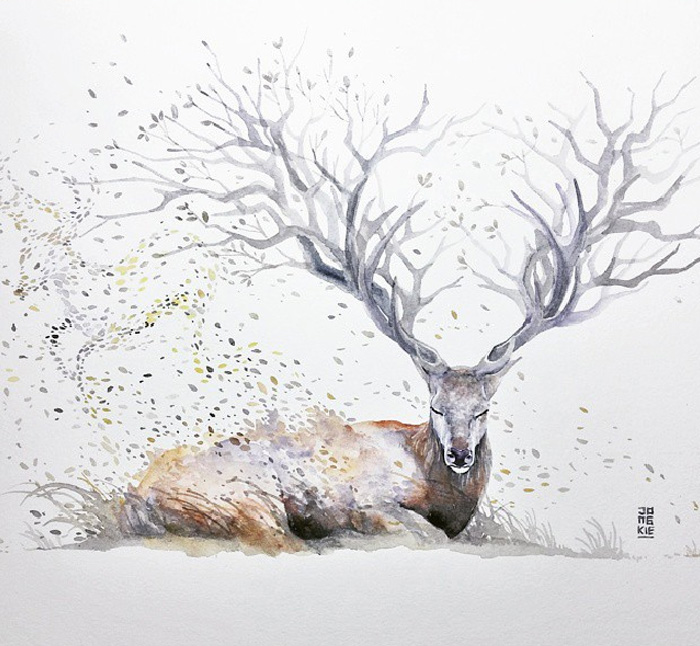 Watercolor-Lead-Me-To-Make-An-Expressive-And-Whimsical-Animal-Illustration10__700