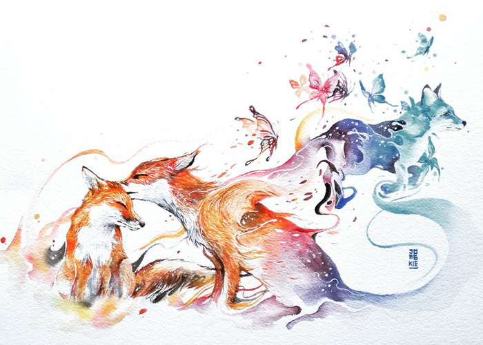 Watercolor-Lead-Me-To-Make-An-Expressive-And-Whimsical-Animal-Illustration21__700