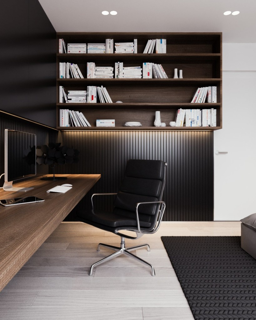 black-wainscoting-in-office