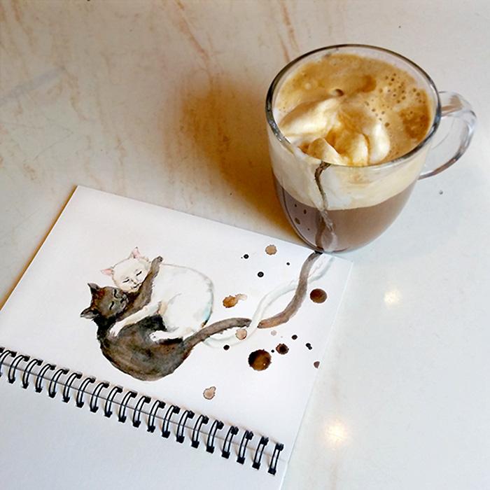 Kávé fagyival