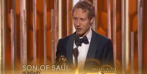 Nemes Jeles LászlóFotó: Golden Globes 2016
