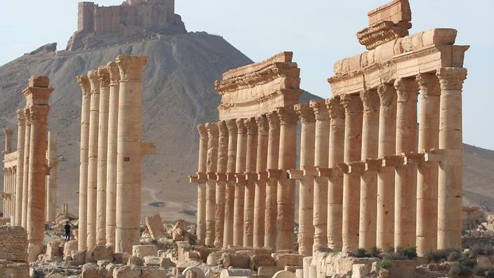 SYRIA - PALMYRA - ISLAMIC STATE
