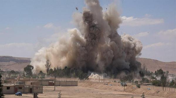 SYRIA-CONFLICT-PALMYRA-PRISON