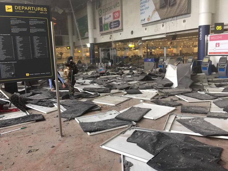 Brüsszel Zaventem repülőtér