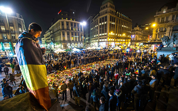 Megemlékezések Brüsszelben
