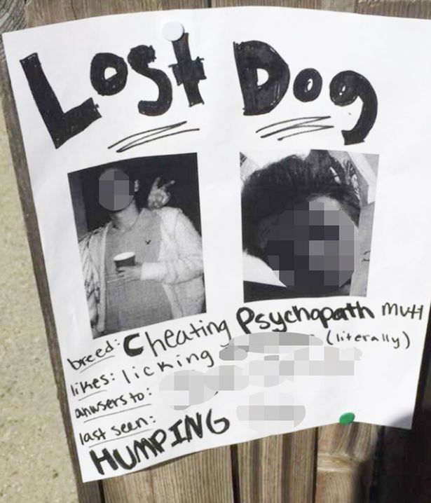 Girlfriend-puts-up-revenge-posters-of-cheating-boyfriend
