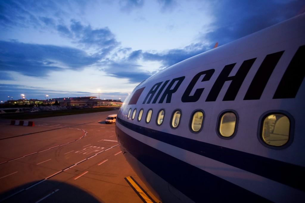 Megérkezett Budapestre az Air China elsõ járata