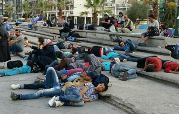 migrants-omonia
