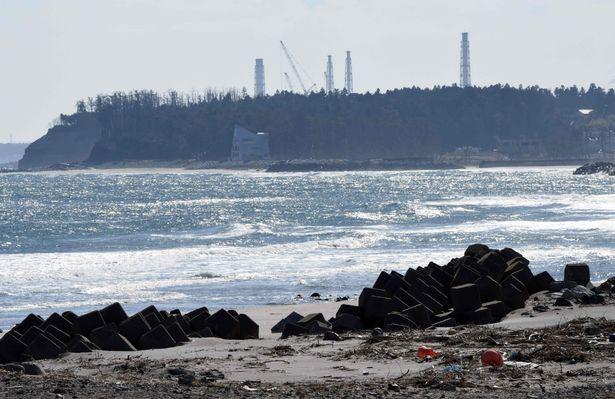 A 2011-es atomkatasztrófa helyszíne