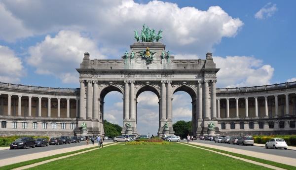 A brüsszeli Cinquantenaire park diadalíve