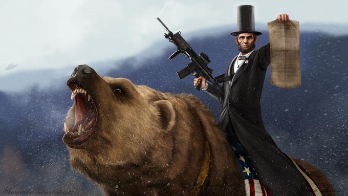 Nem tudni, hogy Lincoln ehhez az egészhez mit szólna, de lehet, hogy már ő is tudott valamit