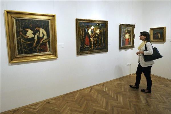 Koszta József-kiállítás