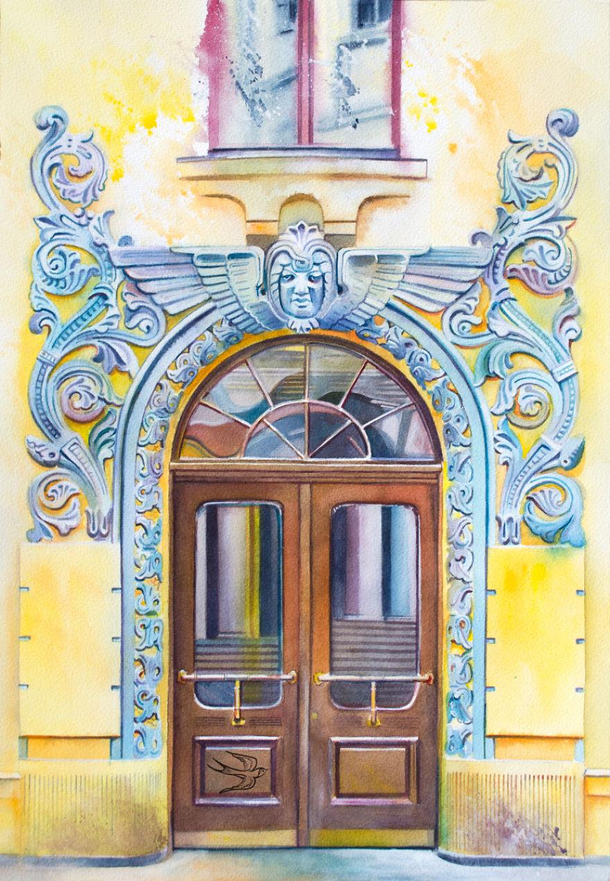 Yaroslav Val utca 49b, Kyiv, Ukrajna