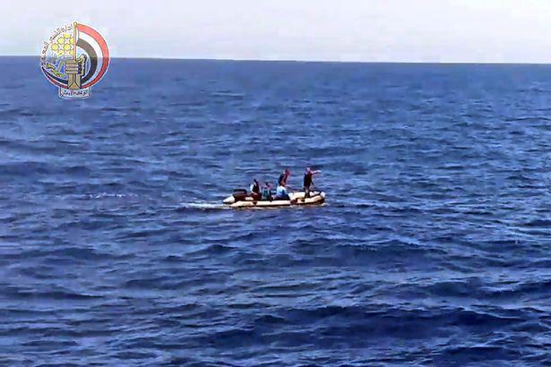 Kereső csapat a Földközi-tengeren