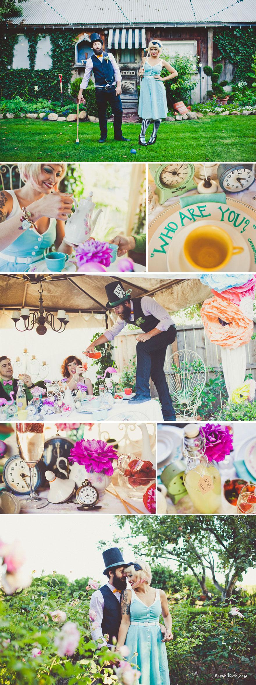 Aliz csodaországban esküvő