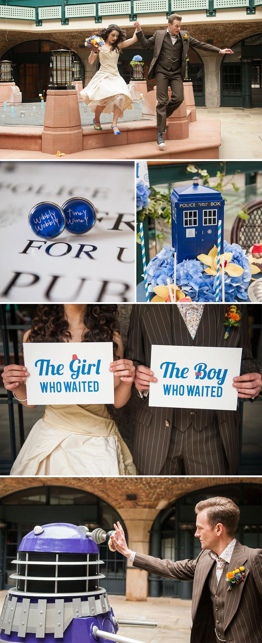 Dr. Who esküvő