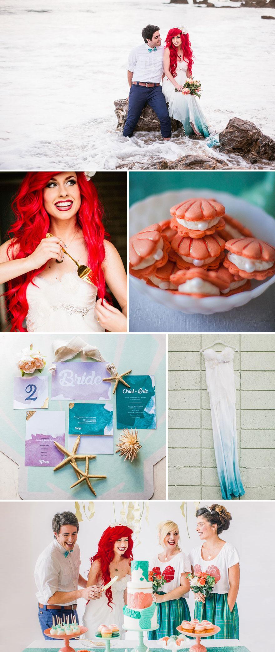 Kis hableány esküvő