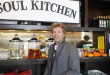 """RED BANK, NJ - OCTOBER 19: Singer Jon Bon Jovi attends the opening of the Jon Bon Jovi Soul Foundation's Soul Kitchen, a """"pay-what-you-can"""" dining model, where both cash donations and volunteer hours are accepted as forms of payment, in Red Bank, New Jersey on October 19, 2011. CREDIT: Amy Sussman for The Wall Street Journal Slug: NYHEARD_SOULKITCHEN"""