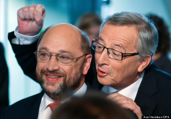 TV duel of Schulz, Juncker for EU elections