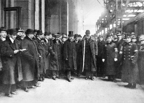 Így indult Párizsba Apponyi Albert a Keleti pályaudvarról