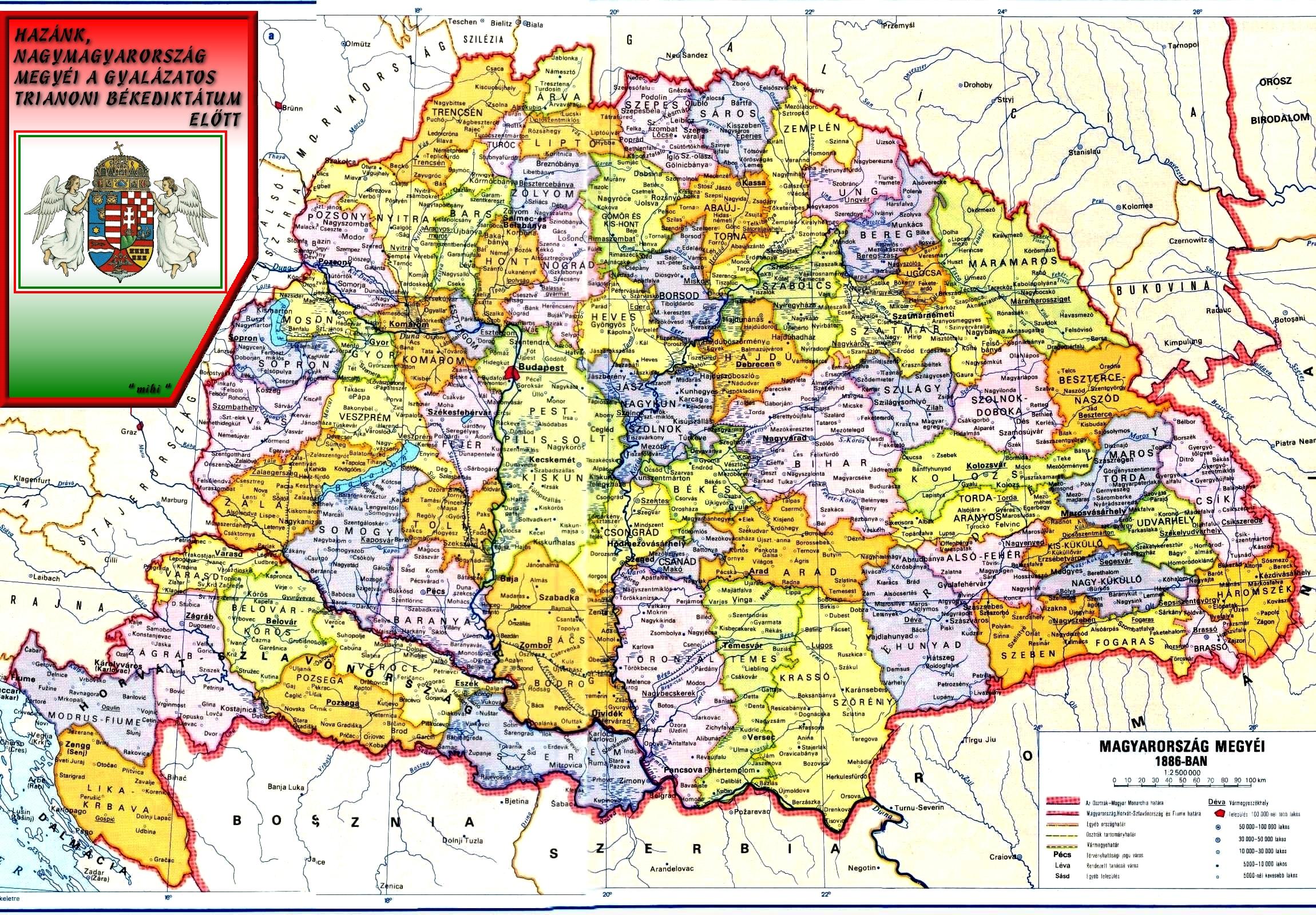 magyarország nagy térkép Ezeket a nyilatkozatokat még biztos nem hallottuk Trianonról  magyarország nagy térkép