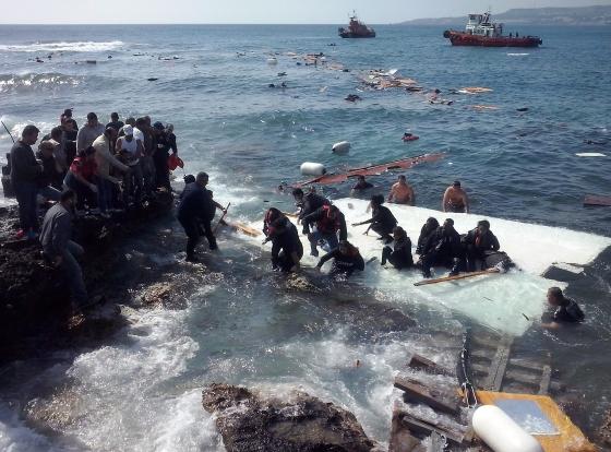 Illegális menekültek Görögországban