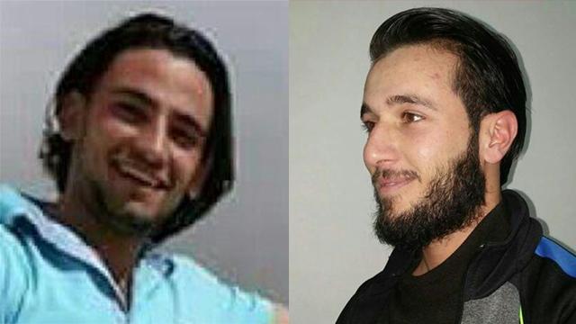 A két palesztin terrorista