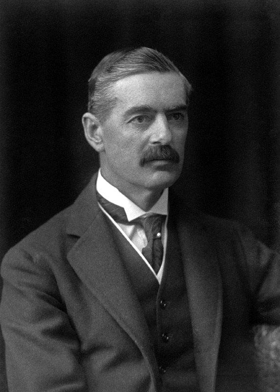 NPG x166506; (Arthur) Neville Chamberlain by Walter Stoneman