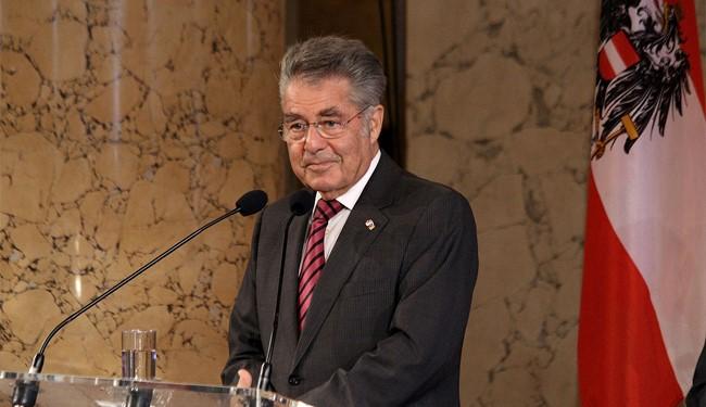 Austrian President Heinz Fischer Will Visit Iran Soon