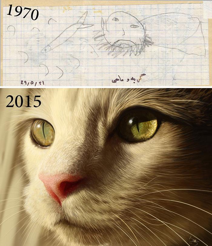 drawing-progress-bahram-arjmandnia
