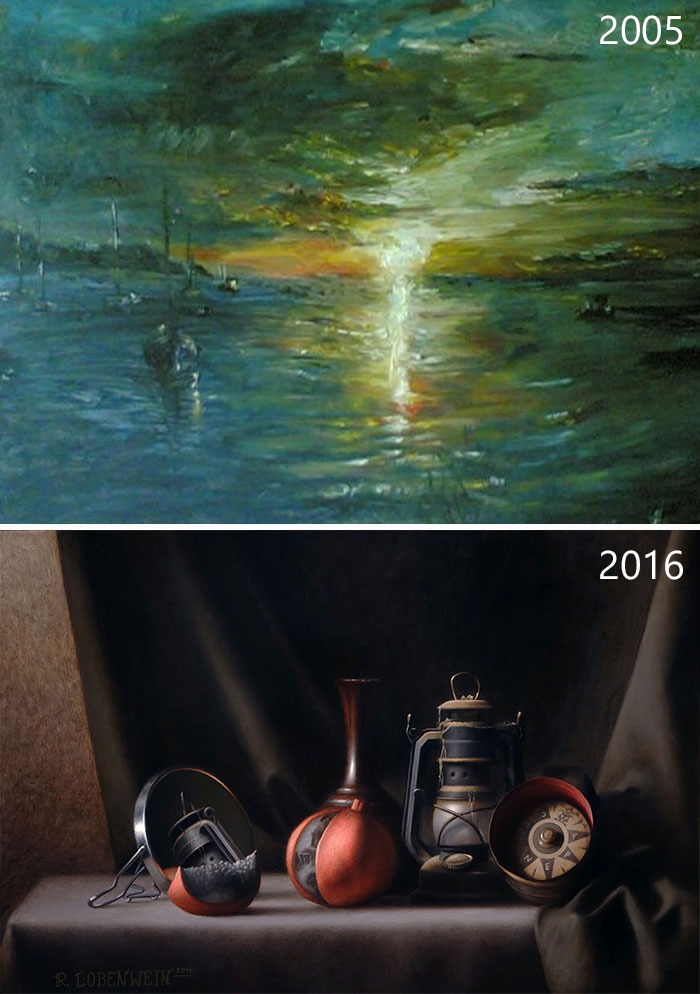 drawing-progress-before-after