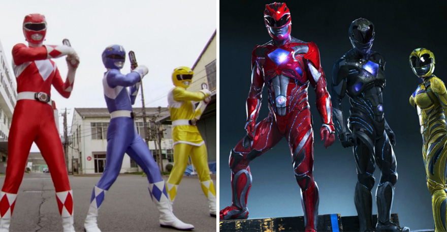 Power Rangers 1993 és 2017