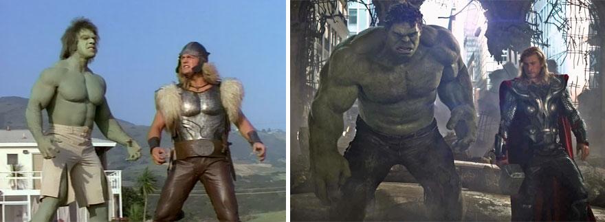 Hulk és Thor 1988 és 2012