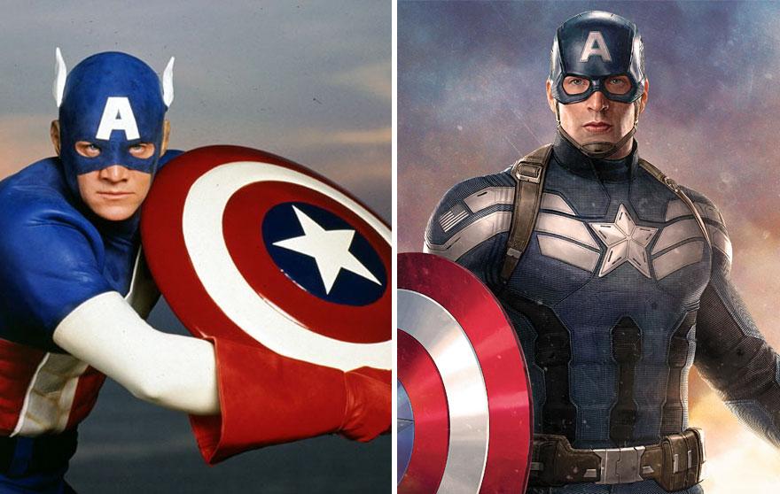 Amerika kapitány 1990 és 2016
