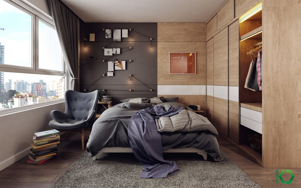 scandinavian-bedroom-with-wood