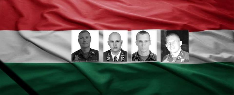 Kötelességük teljesítése közben elhunyt tűzszerész katonák