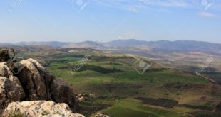 8775753-View-of-Galilee-from-Arbel-mountain-Israel-Stock-Photo