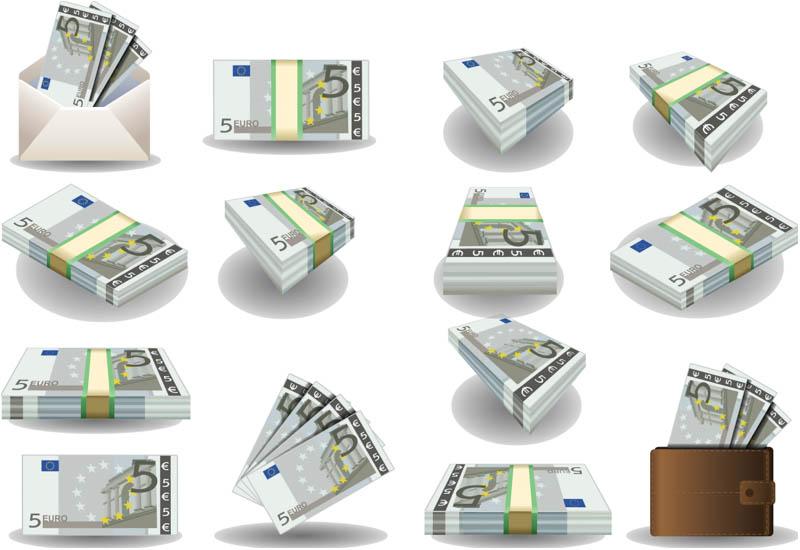 Euro-money-vector