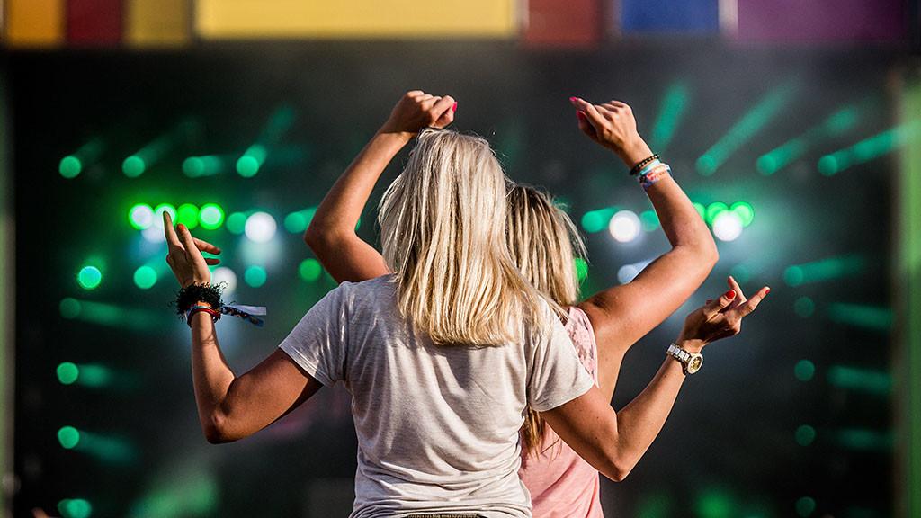 Zamárdi, 2016. július 8. A Balaton Sound fesztivál Zamárdiban 2016. július 8-án. MTI Fotó: Balogh Zoltán