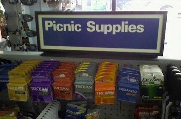 Piknik felszerelés