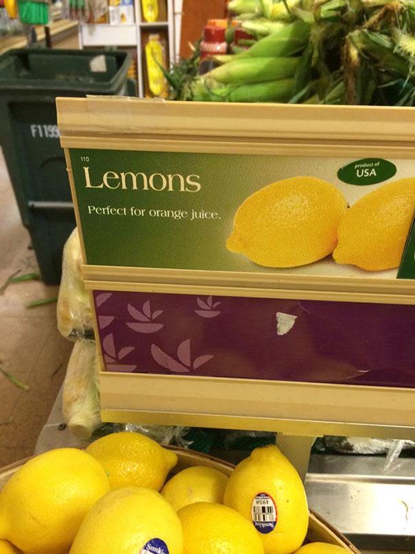 Citrom...tökéletes narancslének!