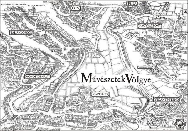 kapolcs térkép Megnyílt a 26. Művészetek Völgye   Hír.ma kapolcs térkép