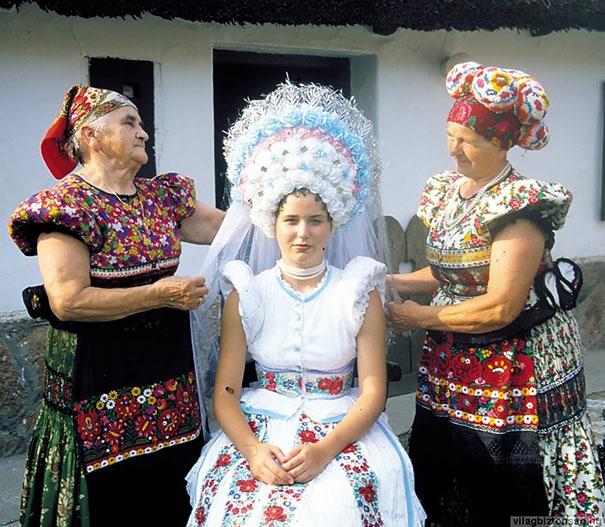 Matyó menyasszony Magyarországról