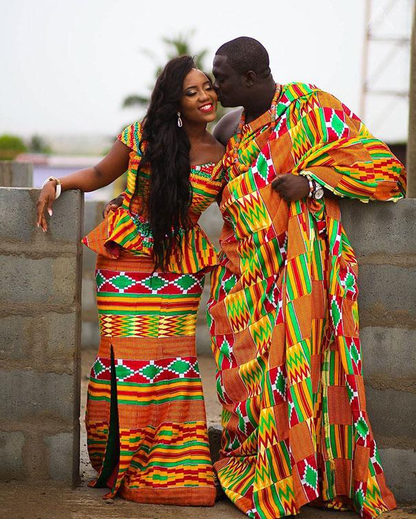 Esküvő Ghanában