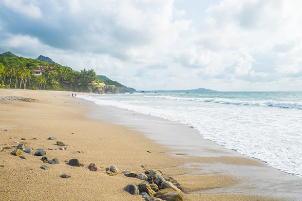 Mexico, Nayarit, Sayulita, Pacific Coast, beach