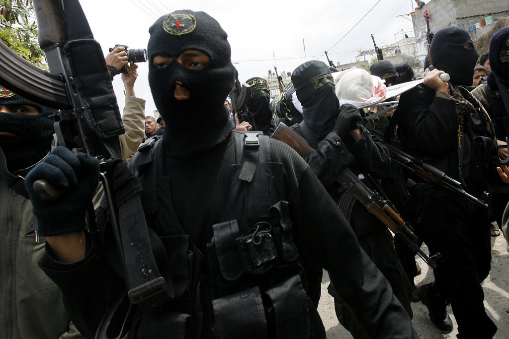 Funeral for Islamic Jihad Militant Killed in Gaza Clashes