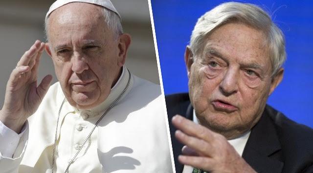 Soros György felvásárolta még Ferenc pápát is!